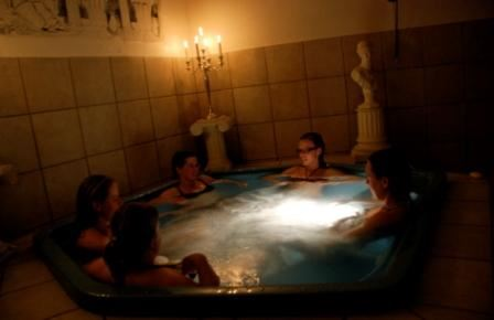 Spa, relax, bad och massage