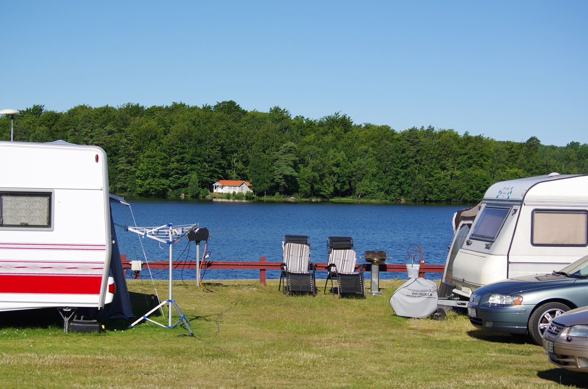 Celebrate midsummer at Halens Camping