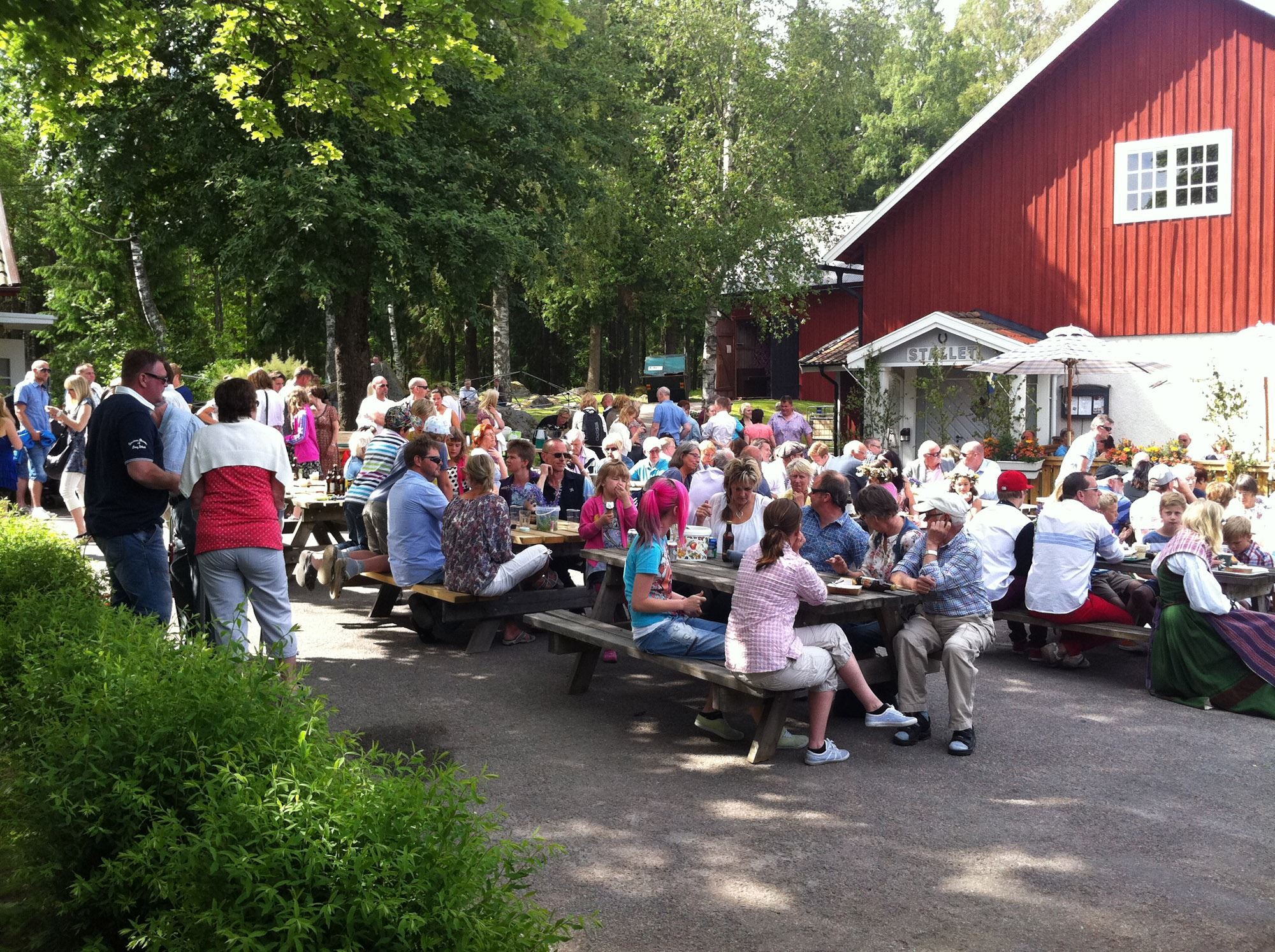 Celebrate the Swedish national day at Lunedets Camping - stay 3 nights pay for 2!