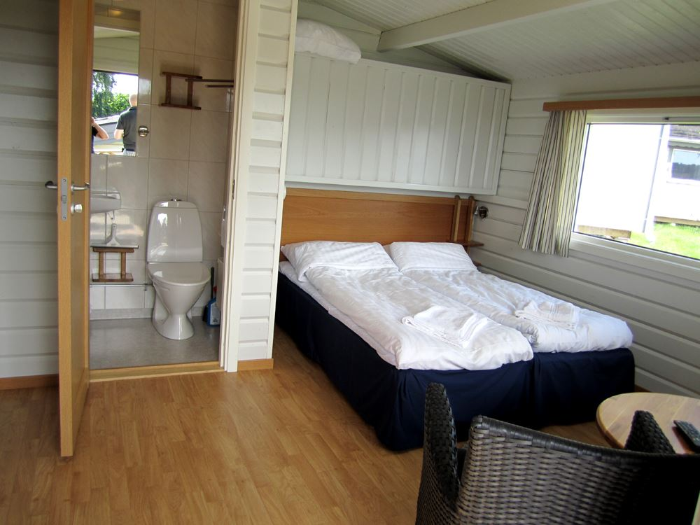 Accommodation in hotel cottage on Hafsten Resort - in the heart of Bohuslän
