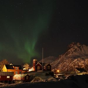 New Year`s in Lofoten