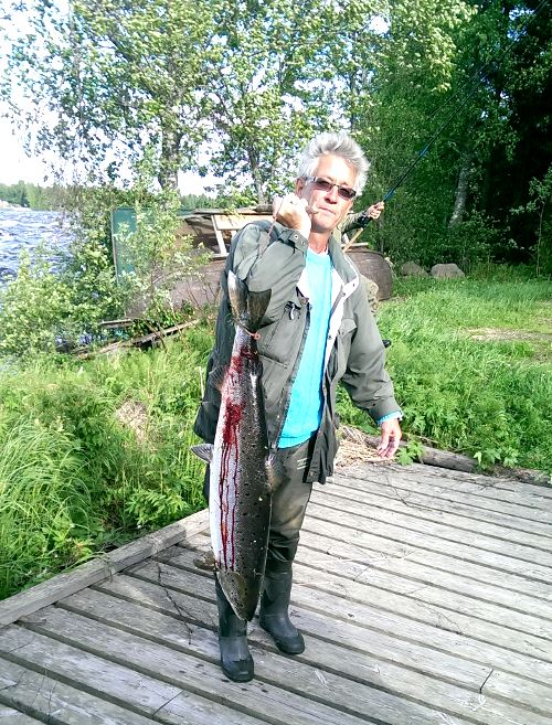 Fishing week at Kukkolaforsens campsite