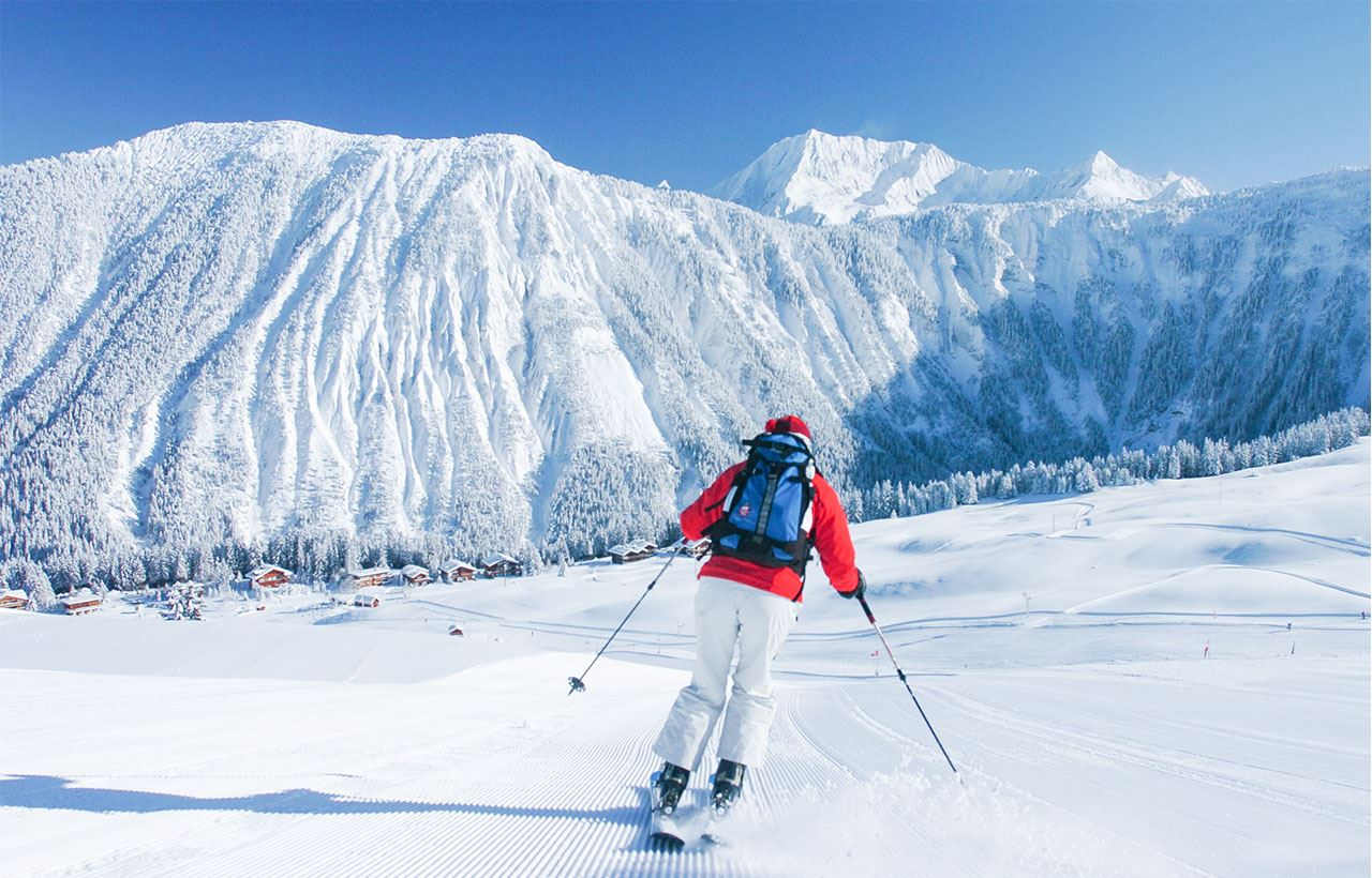 INFINITELY SKI…Stay in a hotel