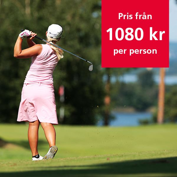 Experience Golf in Norrköping, play 2 days