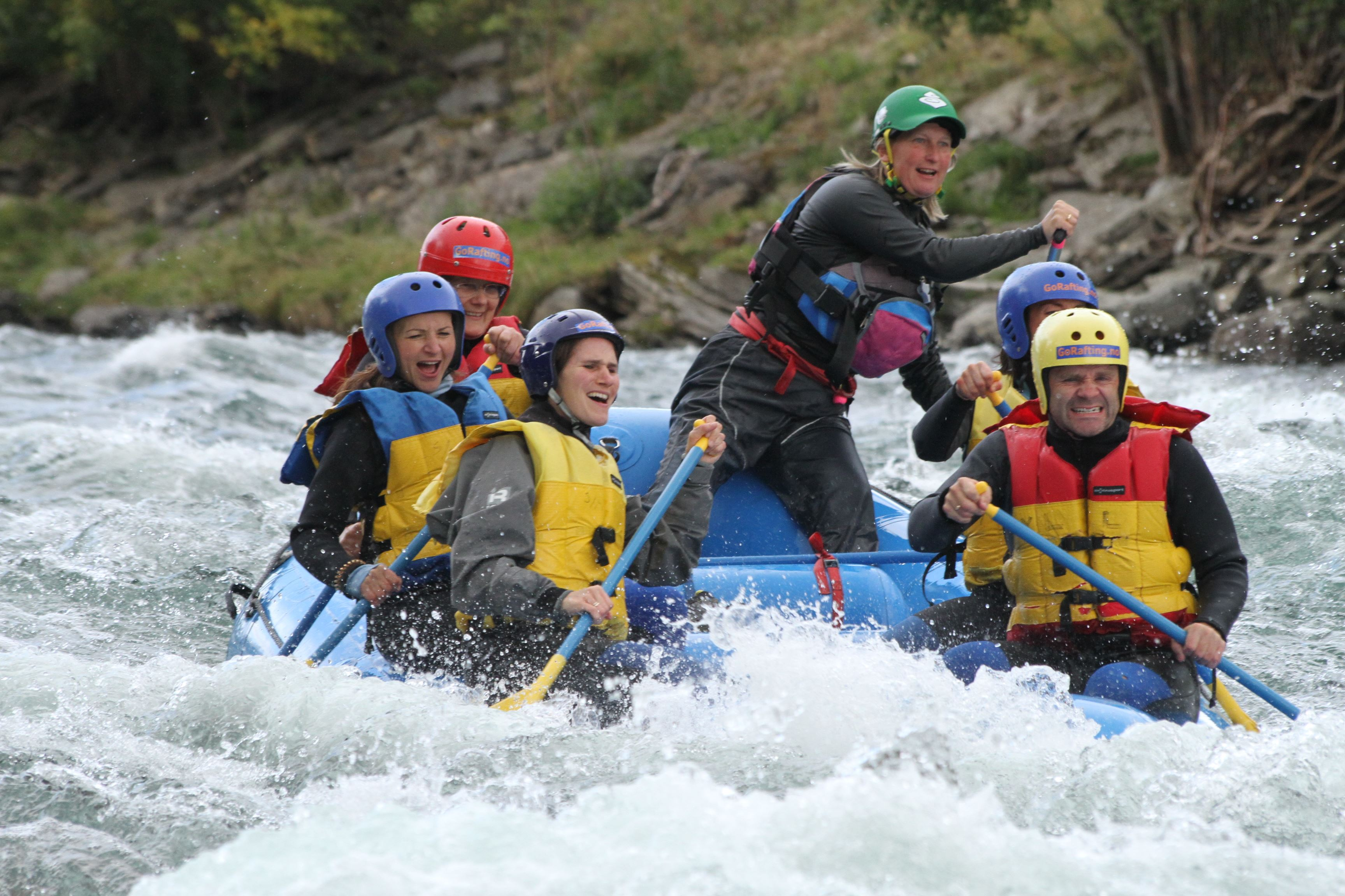 Corporate Rafting Weekend