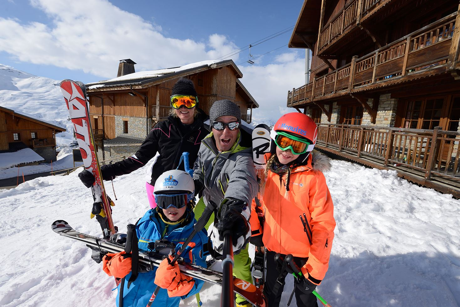 Ski, ride & Fun Family