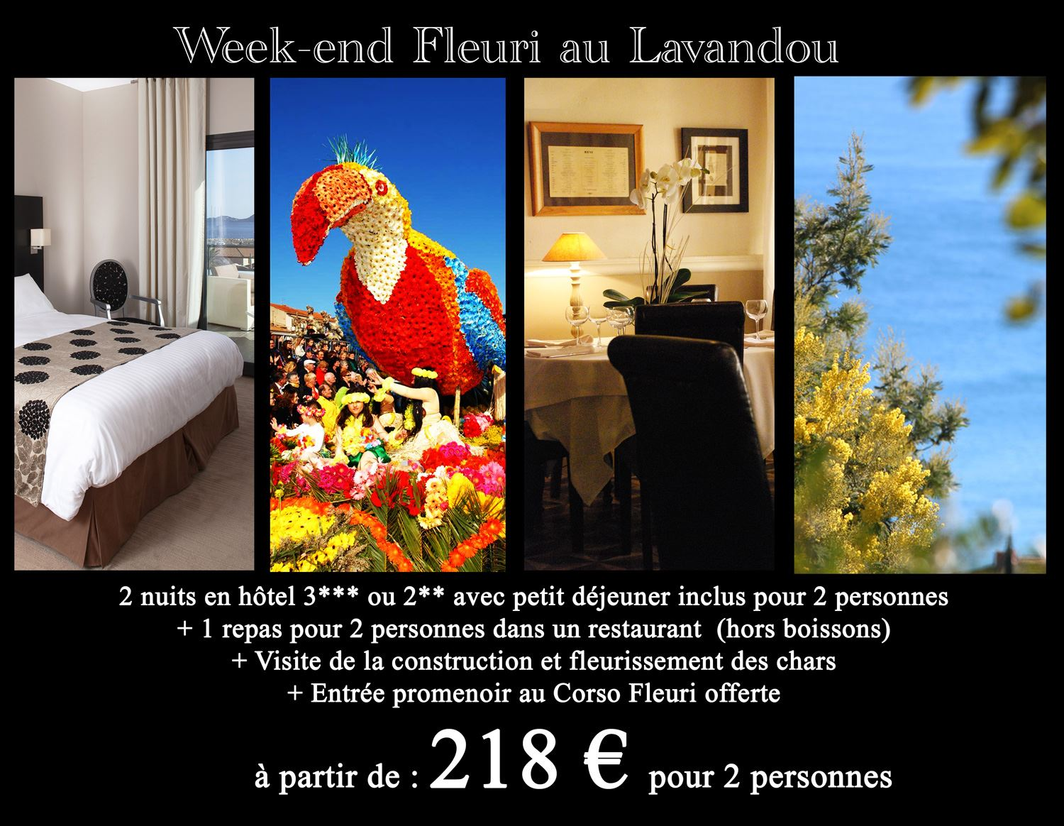 Week-end Fleuri au Lavandou !