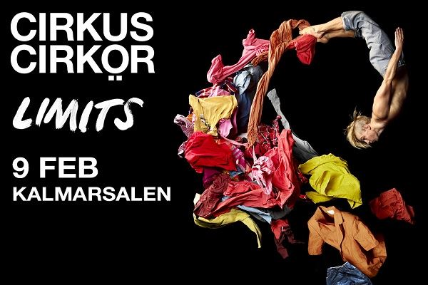 Showpaket 9+10 feb - Limits Cirkus Cirkör