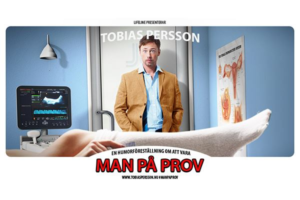 Showpaket 14 april - Tobias Persson – Man på prov
