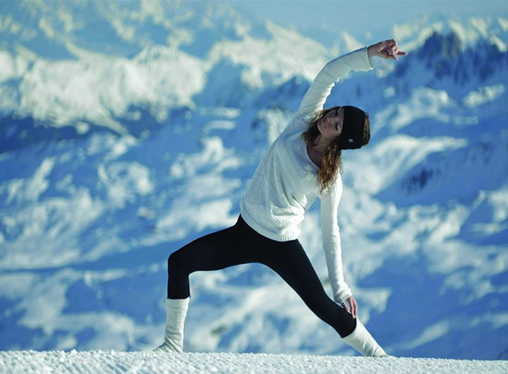 """Yogi ski"" week in Les Menuires : dare the best skiing and the wellness !"