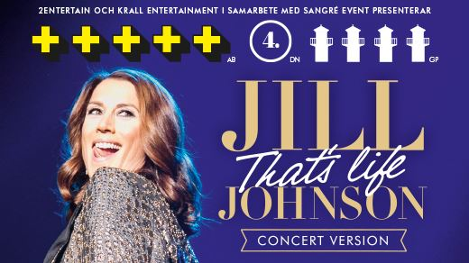 Konsertpaket 24 mars - Jill Johnson That´s Life