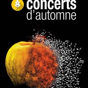 PACK WEEK-END CONCERTS D'AUTOMNE 11 au 13 OCTOBR E2019