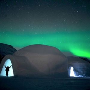 (No Flights) 3-Night Northern Lights & Ice Hotel
