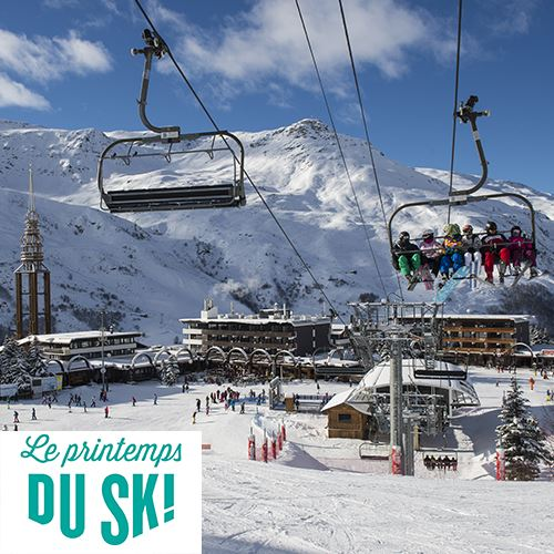 Skiing into Spring 2019: welcome to beginners! - From €154.50/Pers