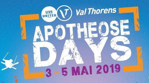 THE APOTHEOSE DAYS - FROM 3TH TO 5TH MAY 2019 - FROM 140 / PERS*