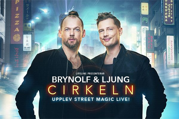 Showpaket 9 nov - Brynolf & Ljung Cirkeln