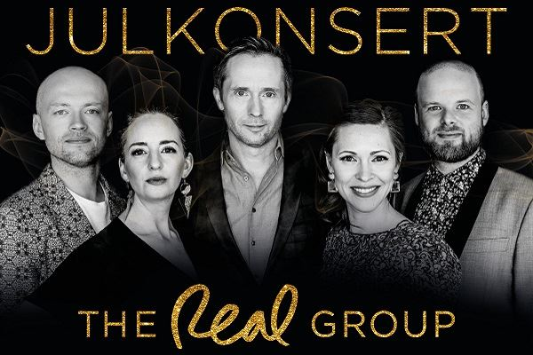 Konsertpaket 20 dec - The Real Group Julkonsert