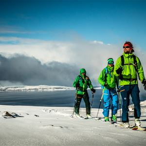 Skitouring days in Lyngen Alps