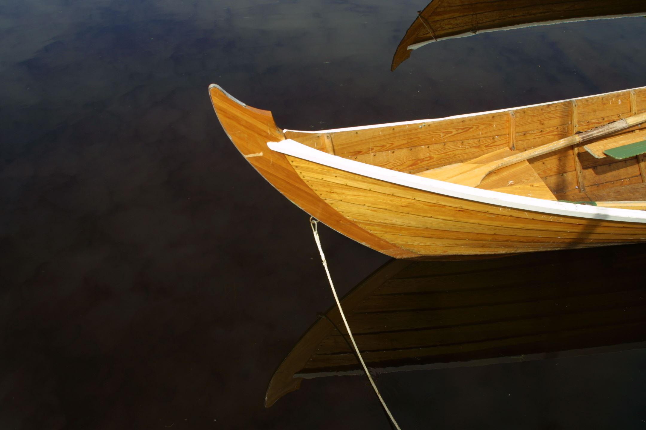 Kyrkbåtsrodd för grupper i Tibble
