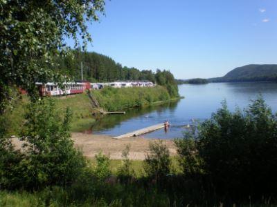 Kävsta Camping/Ferienhäuser