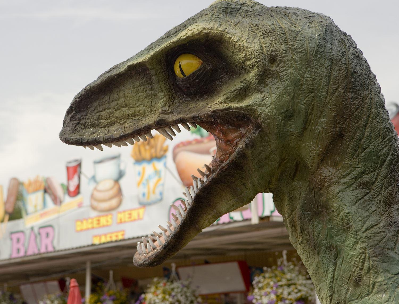 Dinosaurie på Ölands Djurpark