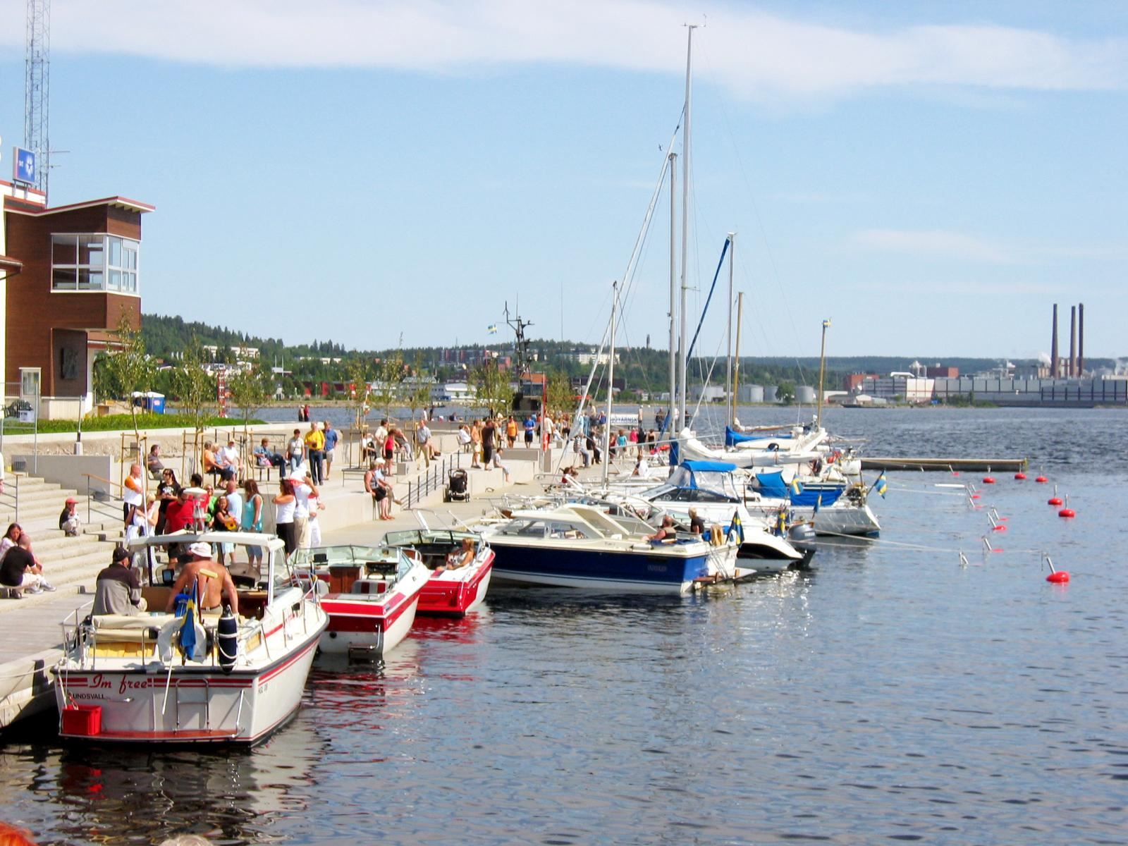 Sundsvall's New Guest Harbour