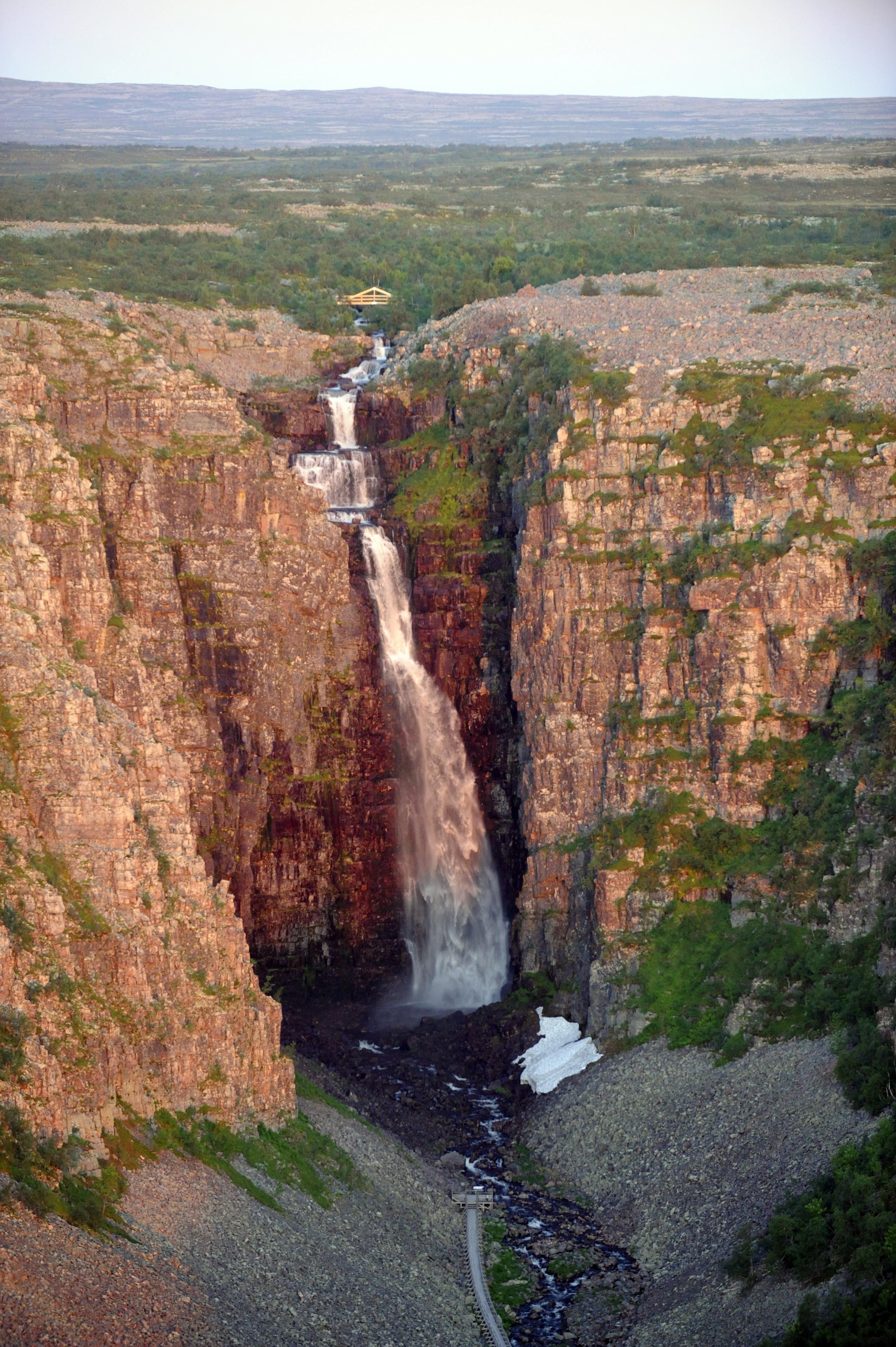 Njupeskär vattenfall, Fulufjället