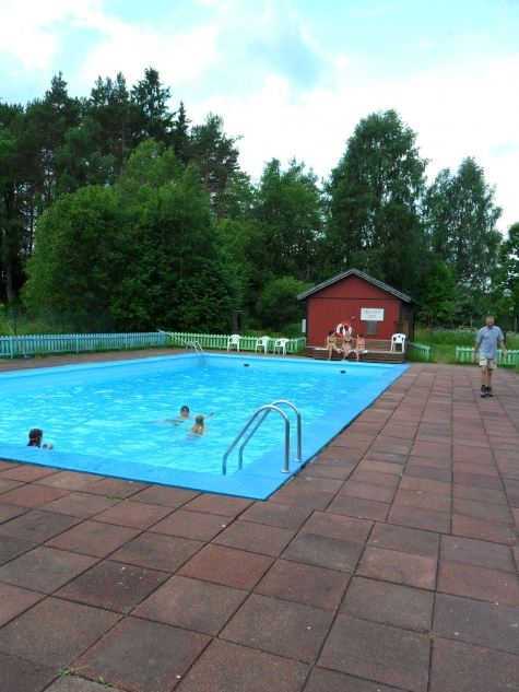 Outdoor pools in Malung & Sälen