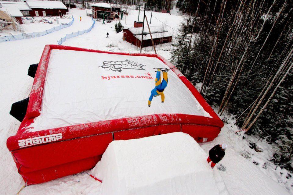 Bagjump Bjursås SkiCenter