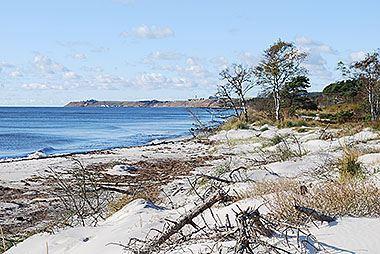 Naturistbad i Hagestad Naturreservat