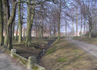 Norra Promenaden, park