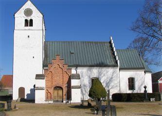 Fotograf: Peter Håkansson, Fjälkinge kyrka sedd från söder
