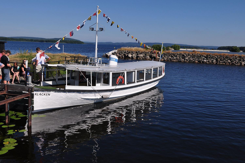 Båttur med Klacken på Ivösjön i sommar