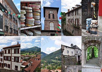 Excursion en autocar à Saint-Jean Pied de Port par Le Basque Bondissant. Les lundis