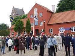 Åhus Museum ligger vid Torget i Åhus