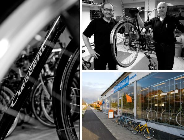 © Handla i Ystad.se, Gösta Svensson bicycle