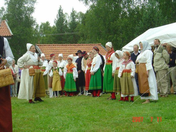 Midsummer celebration in Venjan