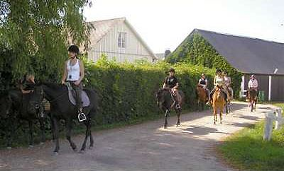 Kristianstad Ridsällskap & ponnyklubb - Klabbarpsgården