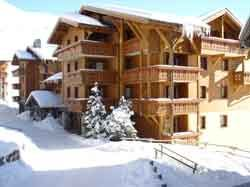 "Residence ski-in ski-out / LES ALPAGES DE REBERTY (Pierre et Vacances Premium - 4,5 Snowflakes ""Gold"")"