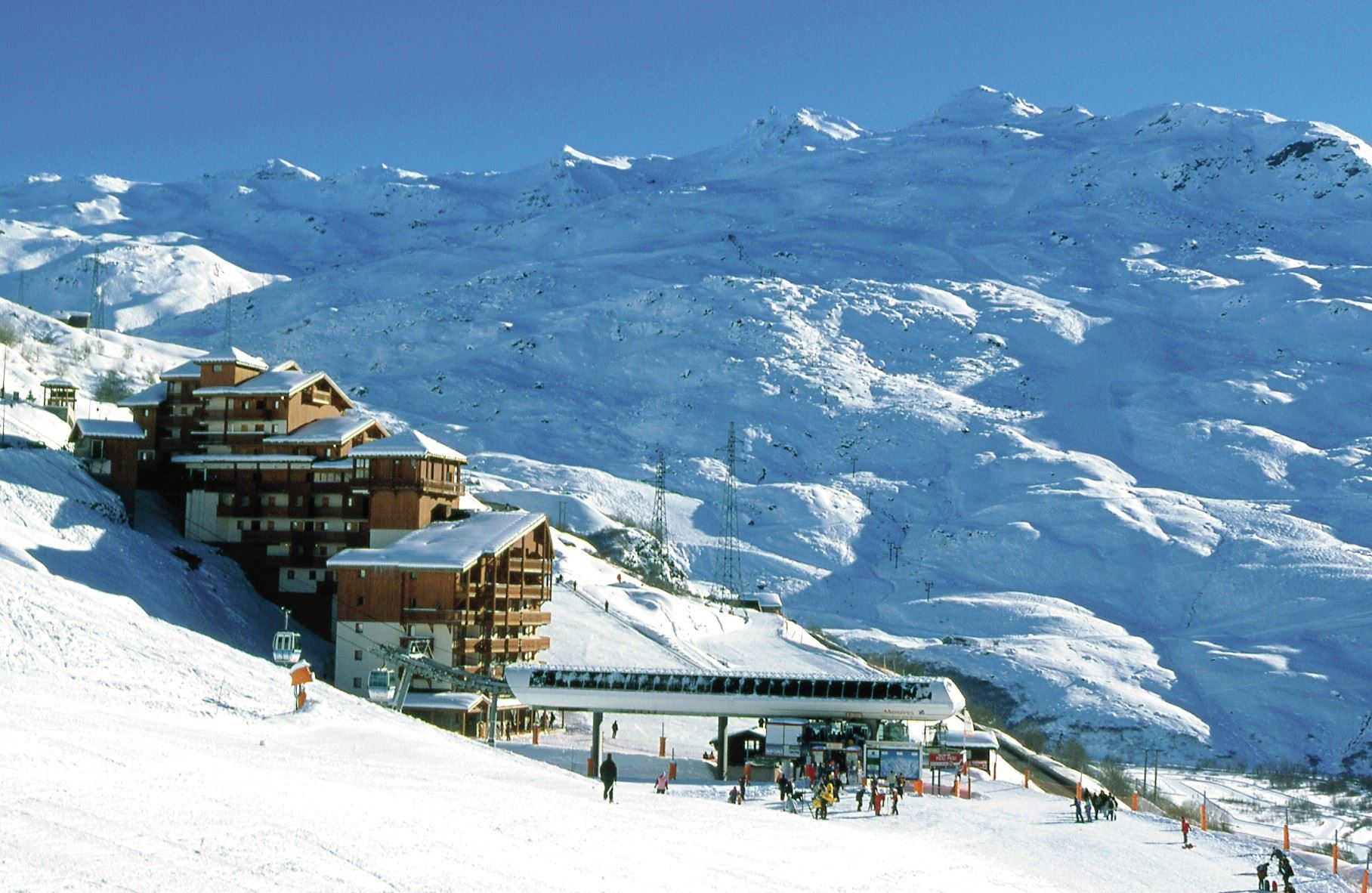 "Residence ski-in ski-out / LES VALMONTS (Pierre et Vacances - 2,5 Snowflakes ""Silver"")"