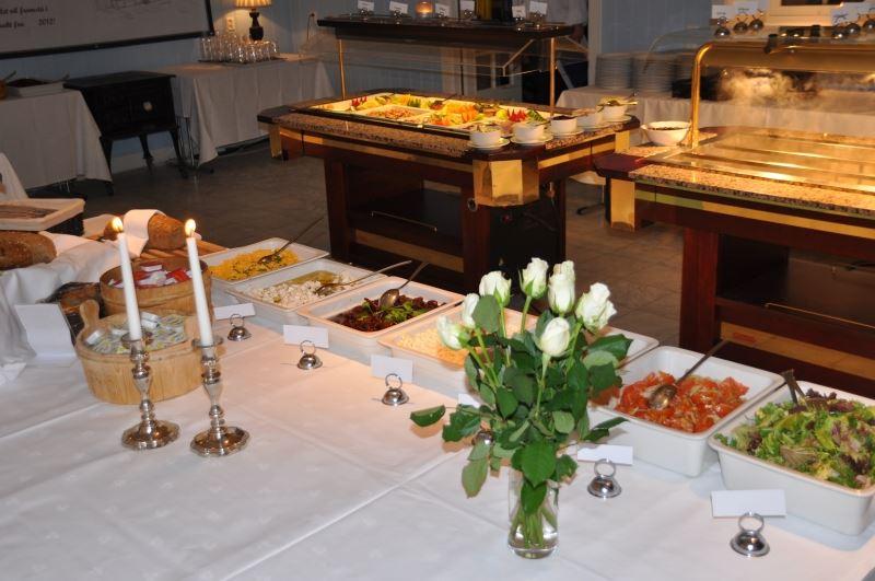 Hafjell Resort, Salater til buffet