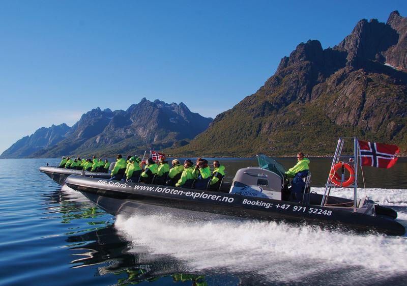 Rib-safari to the Trollfjorden