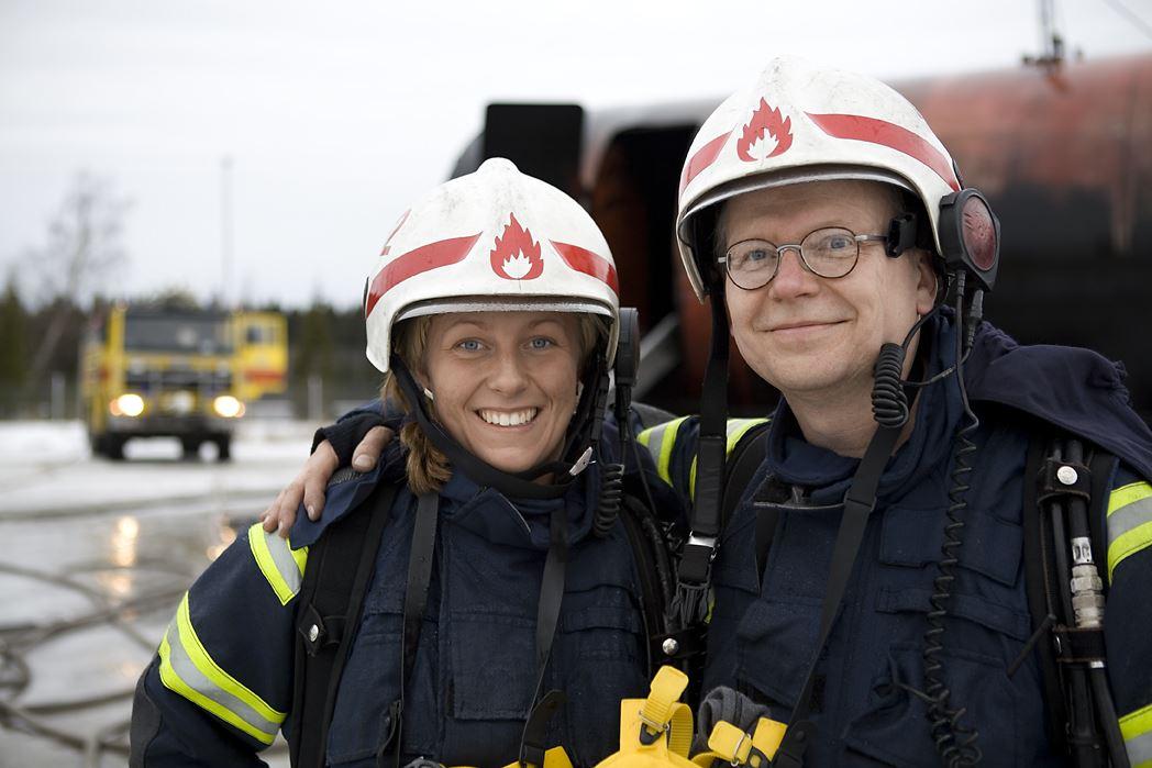 Brandman för en dag