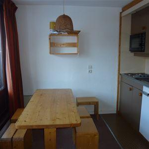 Orcière 003 / Appartement 5 personnes 2 pièces cabine standard