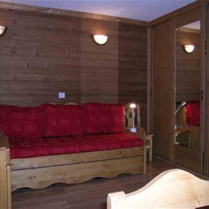 Orcière 025 / Appartement 4 personnes 2 pièces cabine confort +