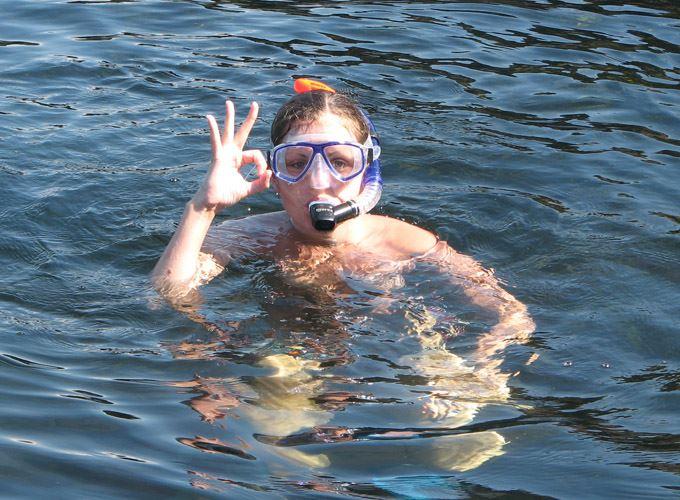 Snorkling safari