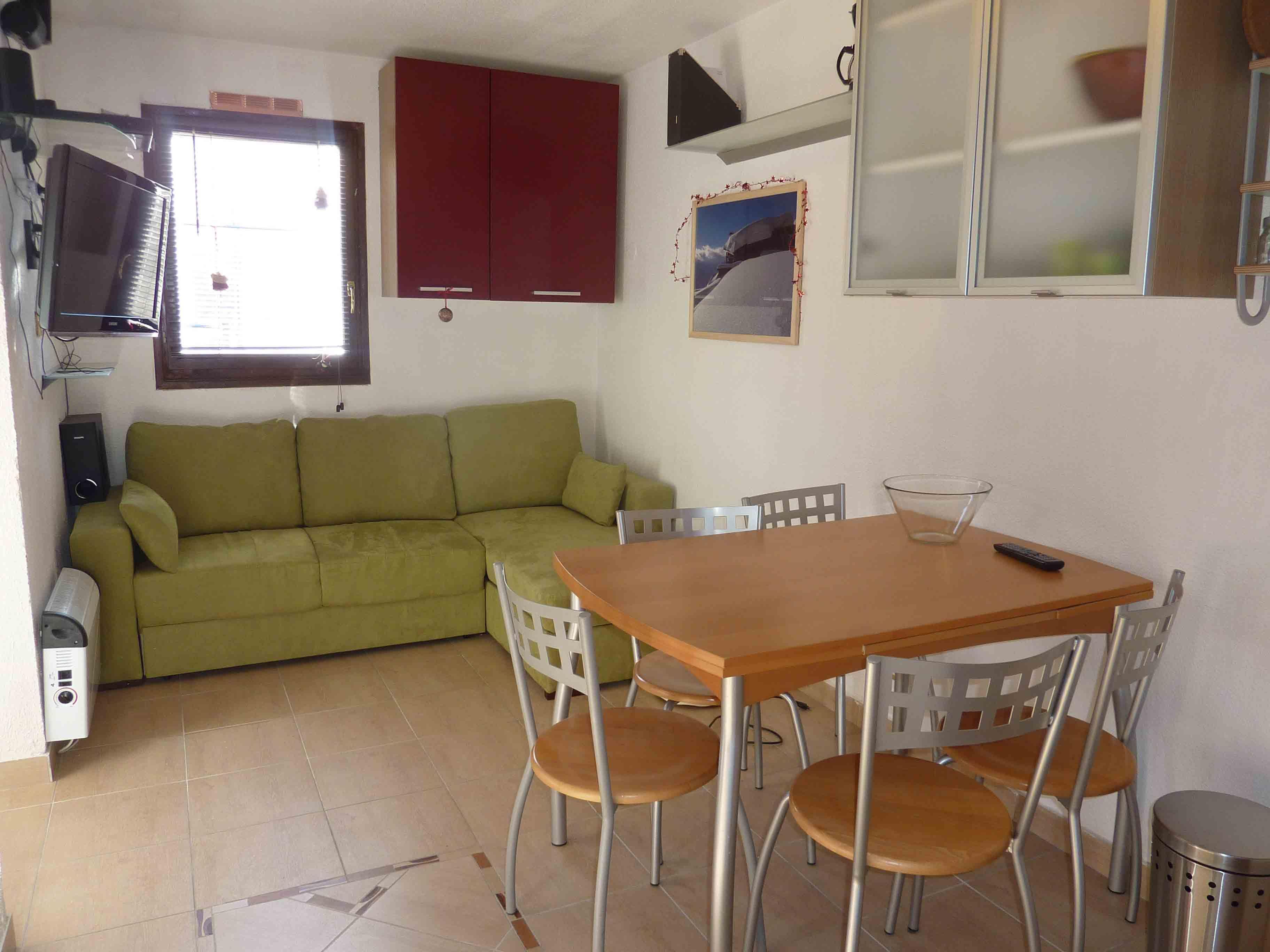 Lauzières 003 / Studio cabin 4 people comfort +