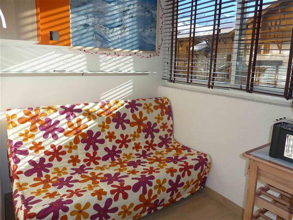 Lauzières 003 / Studio cabine 4 personnes confort +