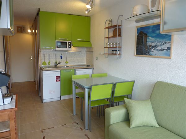 Lauzières 110 / Studio cabine 3 personnes confort +