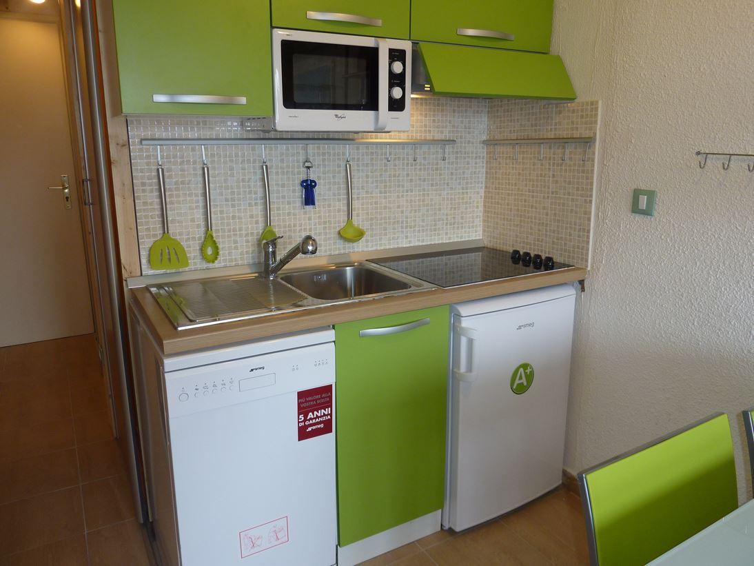 Lauzières 110 / Studio cabin 3 people comfort +